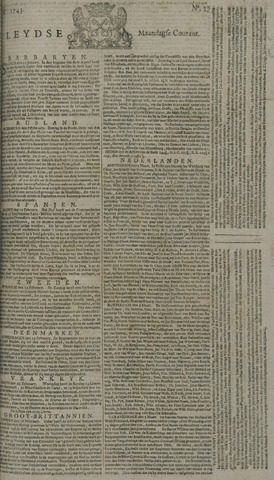 Leydse Courant 1743-03-04