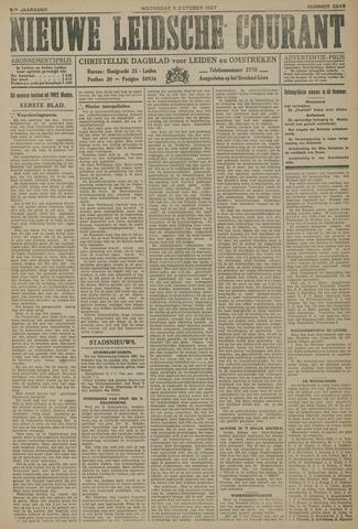 Nieuwe Leidsche Courant 1927-10-05