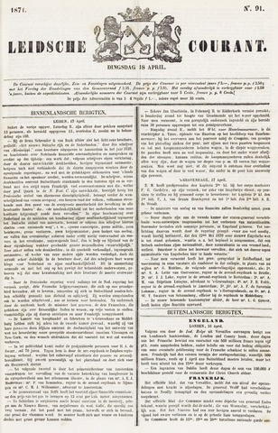 Leydse Courant 1871-04-18