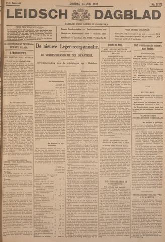 Leidsch Dagblad 1930-07-15