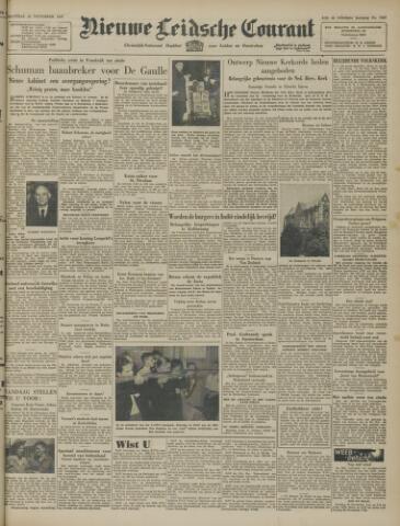 Nieuwe Leidsche Courant 1947-11-24