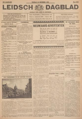 Leidsch Dagblad 1928-12-28