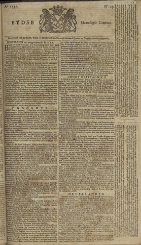 Leydse Courant 1757-02-14