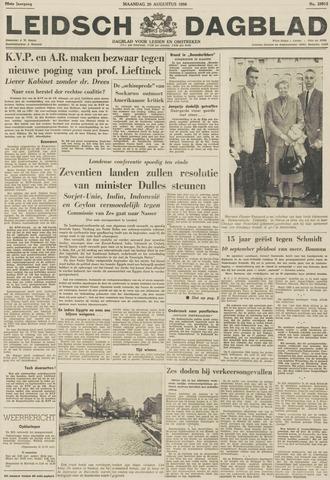 Leidsch Dagblad 1956-08-20