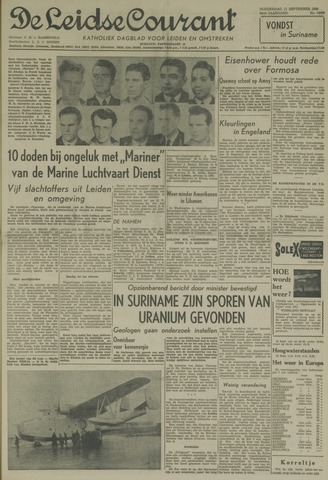 Leidse Courant 1958-09-11