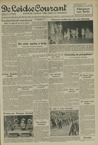 Leidse Courant 1952-06-09