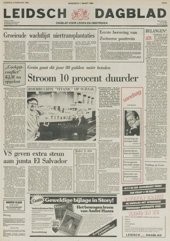 Leidsch Dagblad 1982-02-02