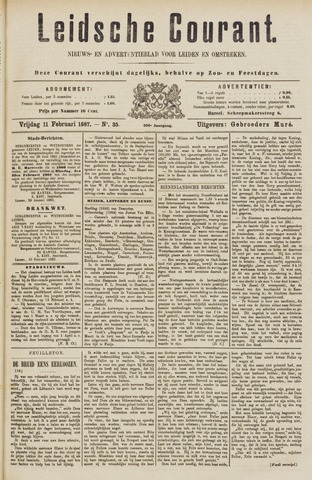 Leydse Courant 1887-02-11