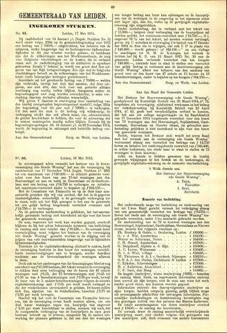 Handelingen van de Raad 1915-05-17