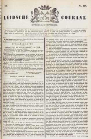Leydse Courant 1877-09-27
