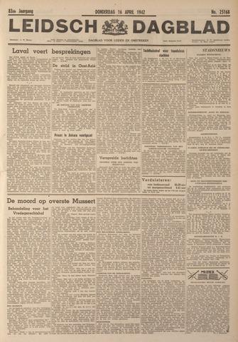Leidsch Dagblad 1942-04-16