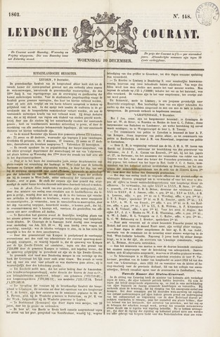 Leydse Courant 1862-12-10