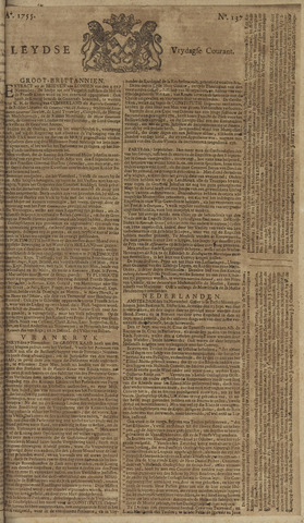 Leydse Courant 1755-11-14