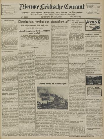 Nieuwe Leidsche Courant 1939-04-27