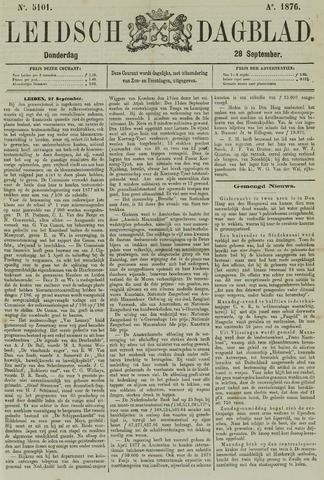 Leidsch Dagblad 1876-09-28