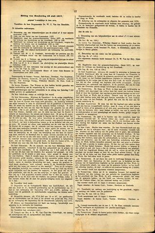 Handelingen van de Raad 1877-07-19