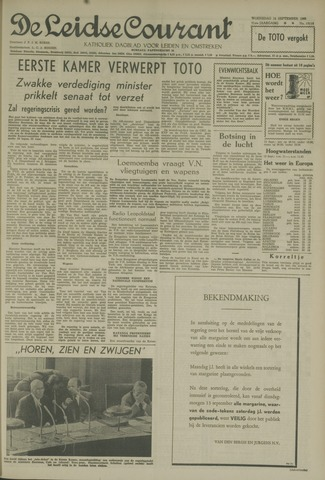 Leidse Courant 1960-09-14