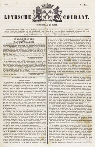 Leydse Courant 1869-07-29