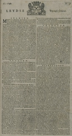 Leydse Courant 1740-03-25