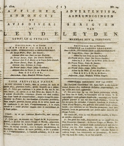 Leydse Courant 1812-02-24