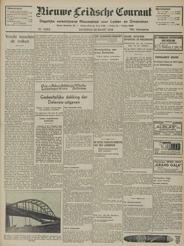 Nieuwe Leidsche Courant 1938-03-26