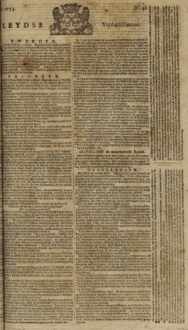 Leydse Courant 1753-04-06