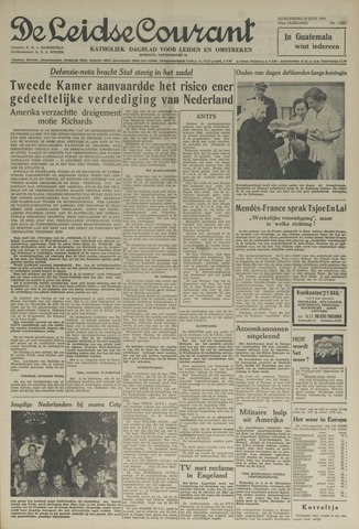 Leidse Courant 1954-06-24
