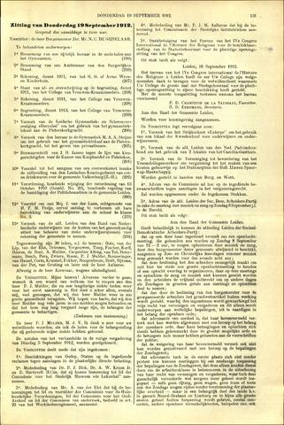 Handelingen van de Raad 1912-09-19