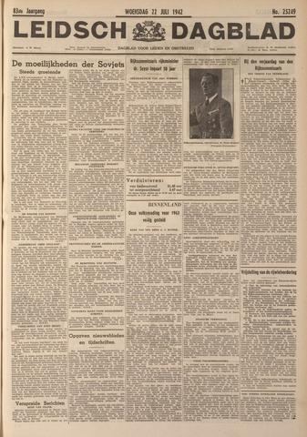 Leidsch Dagblad 1942-07-22