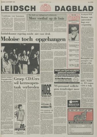 Leidsch Dagblad 1985-10-18