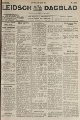 Leidsch Dagblad 1933-06-17