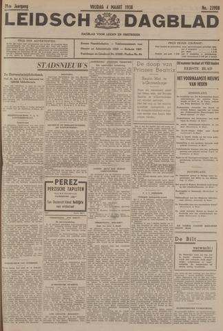 Leidsch Dagblad 1938-03-04