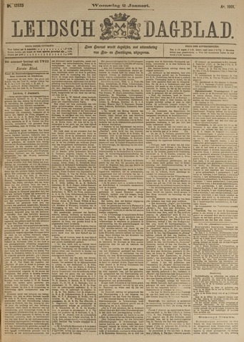Leidsch Dagblad 1901-01-02