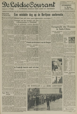 Leidse Courant 1954-02-04