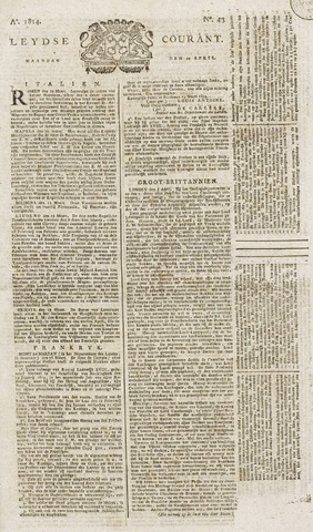 Leydse Courant 1814-04-11