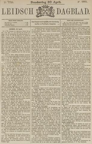 Leidsch Dagblad 1885-04-30