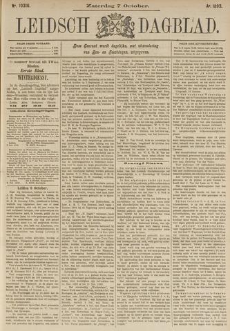 Leidsch Dagblad 1893-10-07