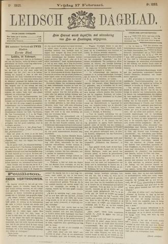 Leidsch Dagblad 1893-02-17
