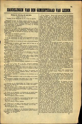 Handelingen van de Raad 1872-07-20