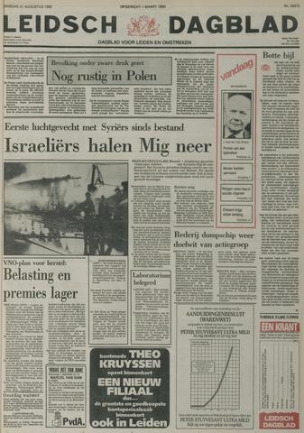 Leidsch Dagblad 1982-08-31