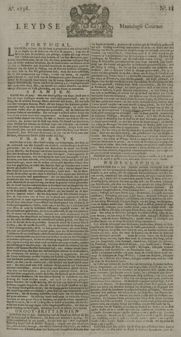 Leydse Courant 1736-07-23
