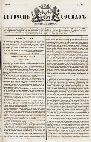 Leydse Courant 1869-10-07