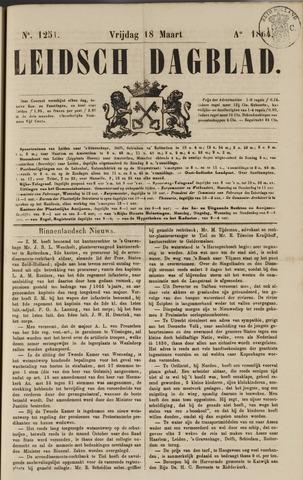 Leidsch Dagblad 1864-03-18