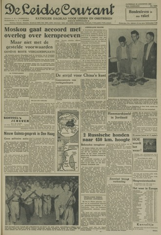 Leidse Courant 1958-08-30