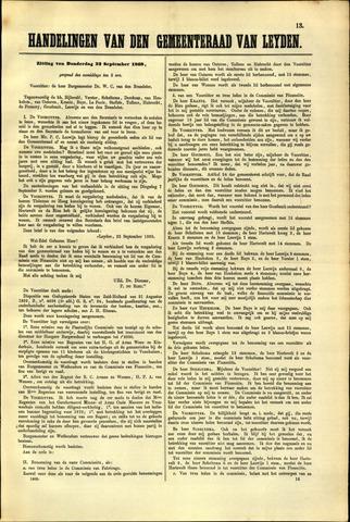 Handelingen van de Raad 1869-09-23