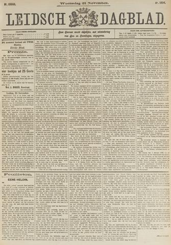 Leidsch Dagblad 1894-11-21