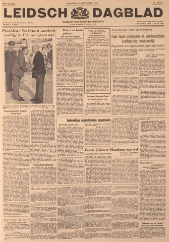 Leidsch Dagblad 1947-09-08