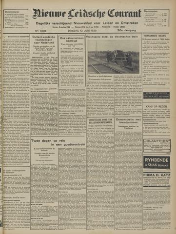 Nieuwe Leidsche Courant 1939-06-13