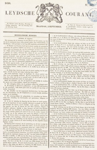 Leydse Courant 1850-09-02