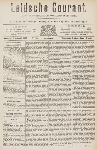 Leydse Courant 1889-01-19